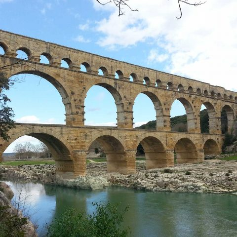 The apartment makes a great base for exploring Provence - this is the wonderful 2,000 year old Pont du Gard